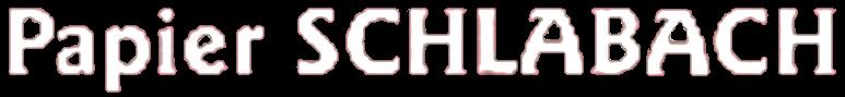 Papier-SCHLABACH